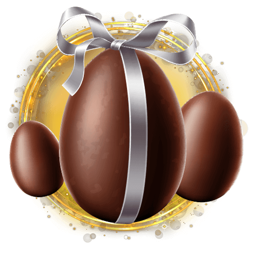 CHOCOLATE EGG CASE